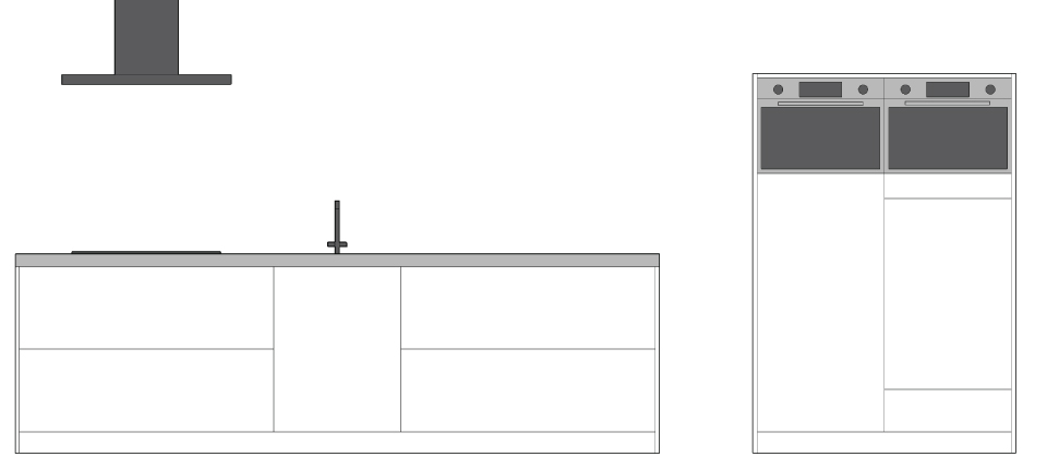 Keuken apparatuur inbouwen