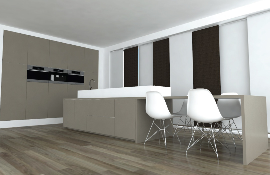 Home Design Keukens : Luvern.com Witte Keuken Mat Of Glans