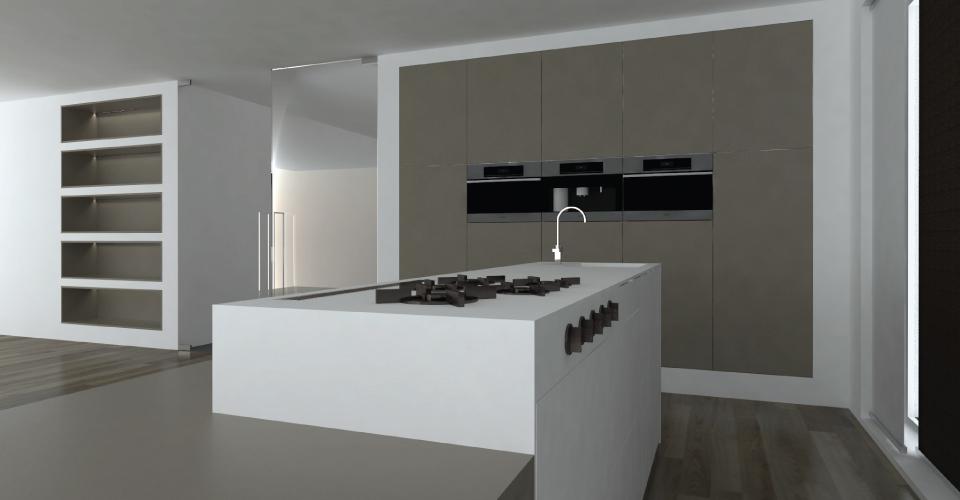 Keuken ontwerp bears design