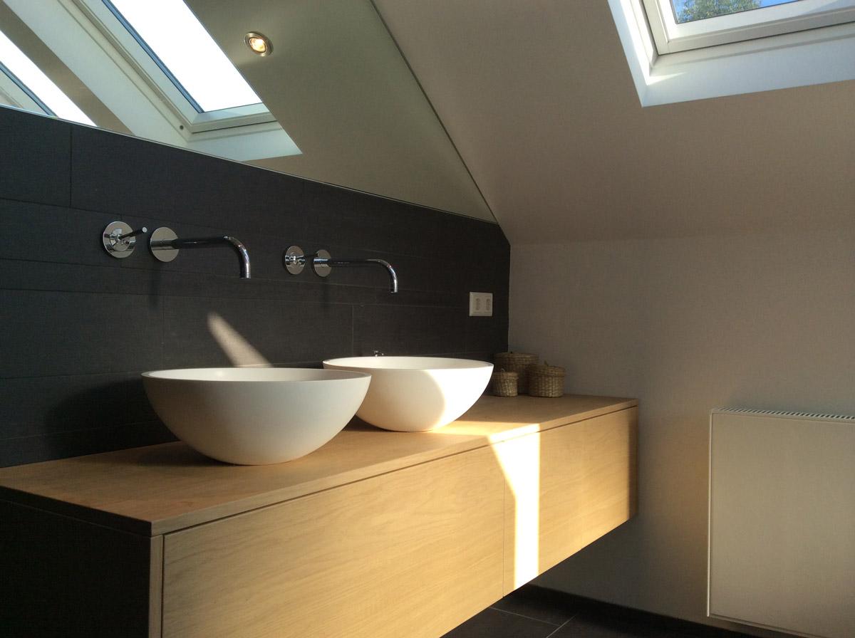 Badkamer meubel op maat bears design